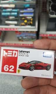 Tomica 車仔 62 法拉利 Ferrari Leferrari 日本版