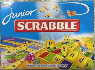 Junior Scrabble - Mattel