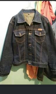 Jaket jeans tebal 👍