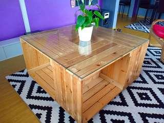 Coffee Table Pine Wood