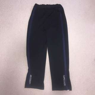 stylish black flowy pants