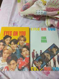 💫wts got7 eyes ver with logbook💫
