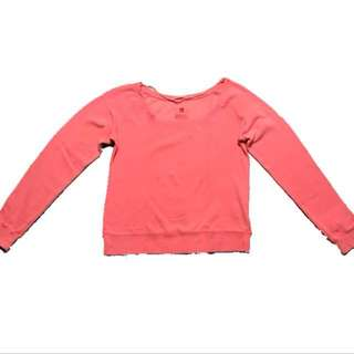 Neon pink pullover | Fox Woman | With slight discoloration, but unnoticeable when worn (see pic 2 & 4) | Never used | Fits S