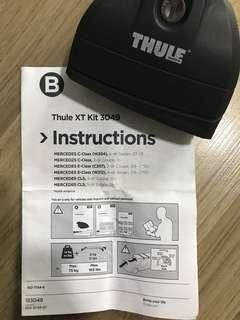 Thule Rapid System 7531 c/w XT kit 3049