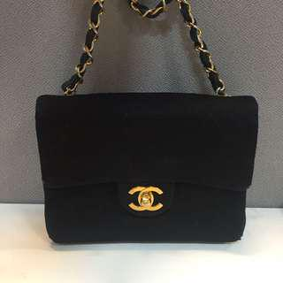 (Hold) Chanel Jersey Mini Vintage Handbag
