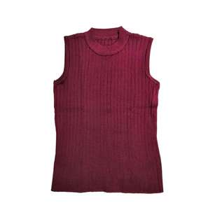 Maroon mock neck top | Never been used | Fits Xs-M