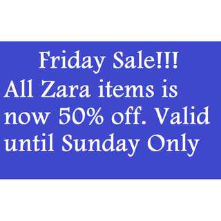 Friday Sale!