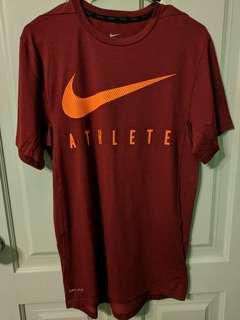 Nike athlete dri-fit shirt