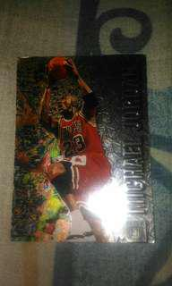 Michael Jordan Fleer Metal 96-97 Collectible Card