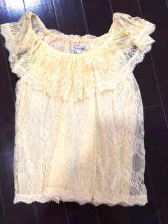 Forever 21 Top renda size S