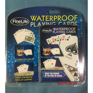 FineLife Waterproof Playing Cards