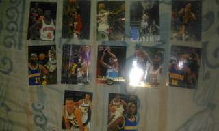 90s NBA Fleer & Metal Fleer Collectible Cards (95 to 97)