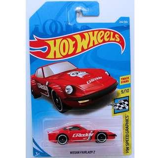 Hotwheels 2018 HW Speed Graphics Nissan Fairlady Z Track Stars Rare