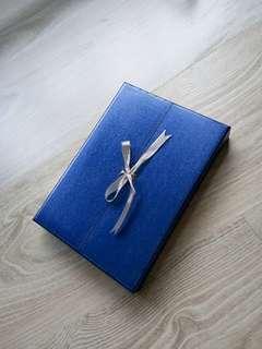 Diamond & platinum Necklace box #UNDER90