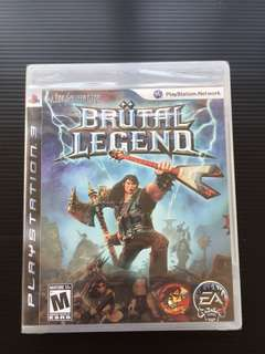 Brutal Legend PS3 R1 (Brand New)