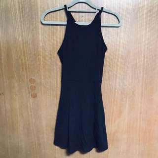 BRAND NEW COTTON ON Black Halter Dress