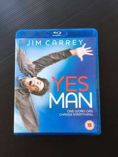 Yes Man (Jim Carrey) Original blu ray