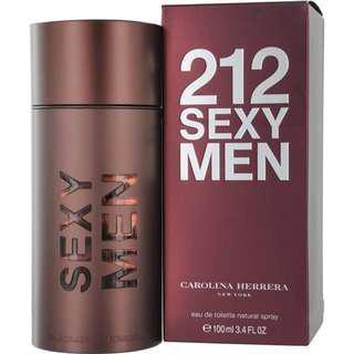 CAROLINA HERRERA 212 SEXY MEN  男用香水  真品 100 ML