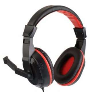 Stereo Noise-canceling Game Gaming Headphone Headset Earphone With Mic