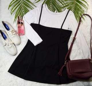 Jumper Dress with inner