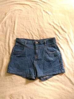 Cotton On High Rise Denim Shorts #under90