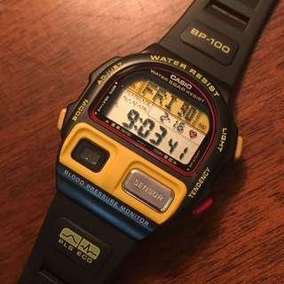 Casio 血壓計錶 1991年