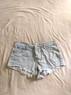Cotton On Frayed Denim Shorts #under90