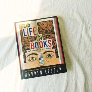 BN A Life In Books: The Rise and Fall of Bleu Mobley Hardcover by Warren Lehrer