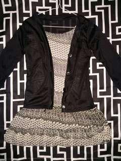 Long sleeve Semi-Dress