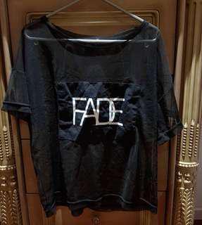 ASOS FADE Mesh T-Shirt