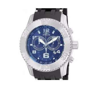 INVICTA Sea Spider Chronograph Blue Dial Stainless Steel 10248 Men's Watch