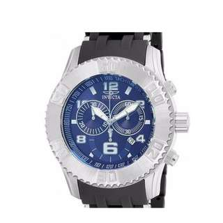 Invicta Men's 15240 Sea Spider Stainless Steel Watch with Polyurethane Band