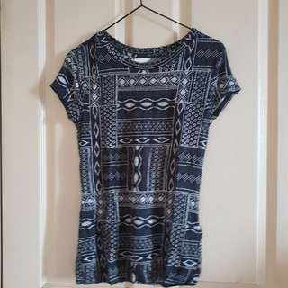 H&M Patterned Top