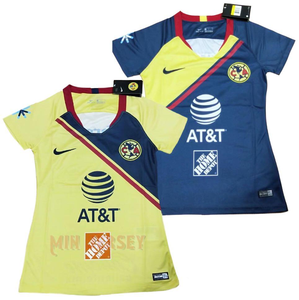 premium selection d54eb 0026b 18/19 Club America female kits
