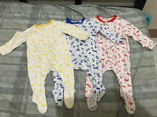 3in1 sleepsuits