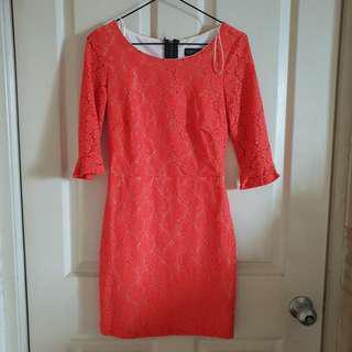 Topshop Patterned Dress