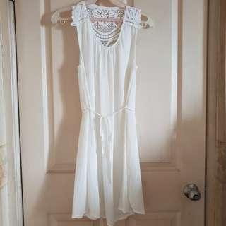 H&M Conscious White Dress