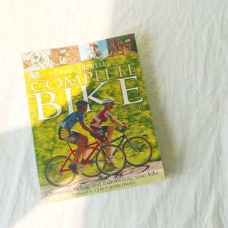 🚚 DK The Complete Bike Book by Chris Sidwells
