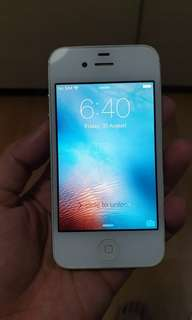 Used iPhone 4s 64GB White for fast sale