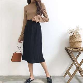 🆕 READY STOCK KNITTED SKIRT