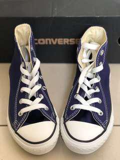 Brand new converse dark blue sneakers size 29