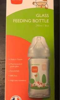 b&h貝赫玻璃奶瓶240毫升