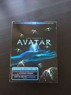 Avatar Extended Collector's Edition Original blu ray