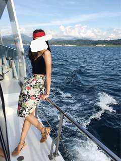 Tropical Midi Skirt