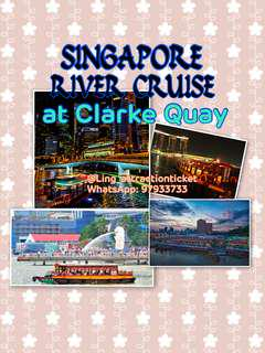 SINGAPORE RIVER CRUISE AT CLARKE QUAY