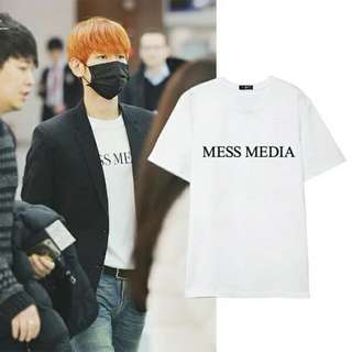 "[PO] EXO Baekhyun ""MESS MEDIA"" Inspired Shirt"