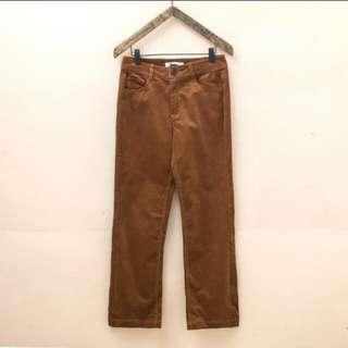 🚚 焦糖色直筒褲#九月女裝半價