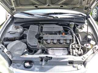 2002 Honda Civic Lxi - Rush