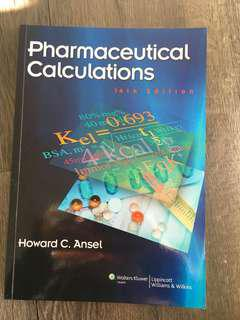Pharmaceutical Calculations Textbook by Howard C. Ansel