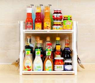 😍全新現貨-廚房調味品收納架